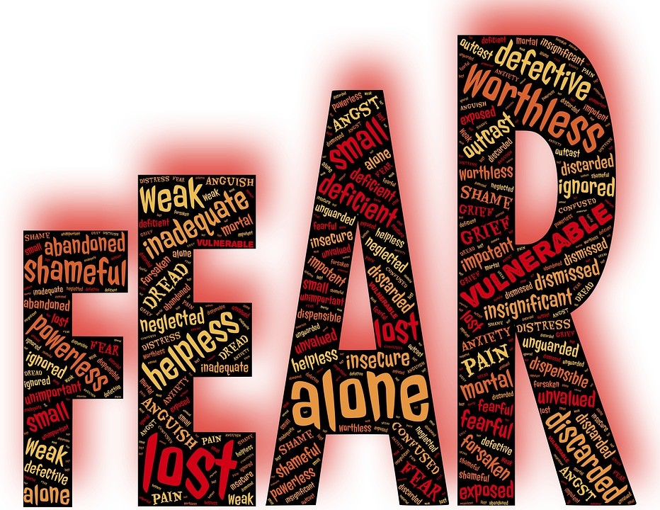 napis strach